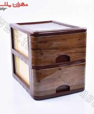 فایل ۲طبقه اداری طرح چوب جهرمی