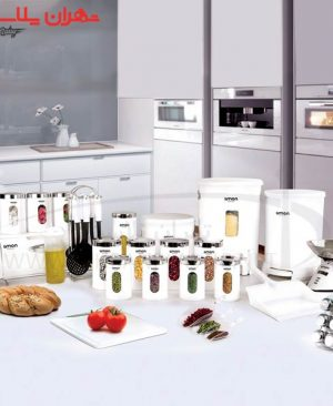 سرویس آشپزخانه گرد ۳۷پارچه سفیدلیمون/۱سرویس