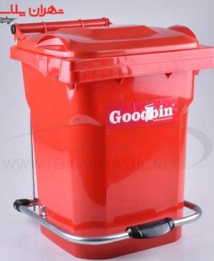 کد۷۳۴۷مخزن زباله ۶۰لیتری پدالدار/۱عددی